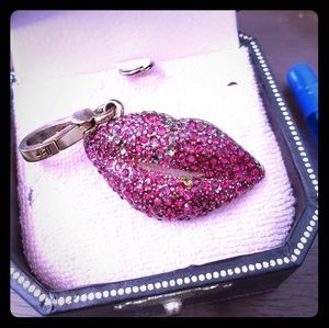 Red Lip Juicy Couture charm